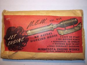 Vintage Toys M E w No 601 Jet Engine Fine Collector Jet Engine Item 87