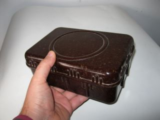 German WWII Mess Kit Food Bakelite Container Box