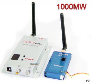 2 4GHz 12CH Wireless Video Transmitter Receiver 2000ft