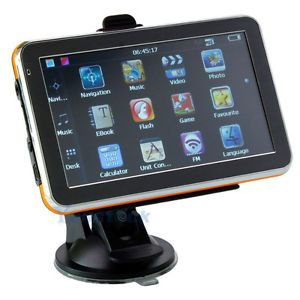 """5"""" 5 inch Auto Car GPS Navigation TFT Touch Screen WinCE 6 0 MP3 MP4 New Map HK"""