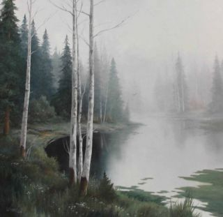 Laura Mann Original Oil Painting Landscape Hunting Woodland Signed Certificate