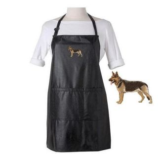 German Shepherd Dog Waterproof Apron Grooming Bathing