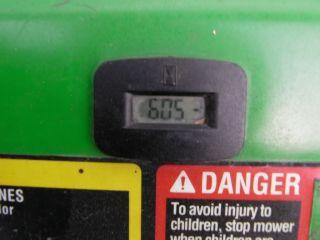 John Deere 667A Stander Commercial Zero Turn Lawn Mower