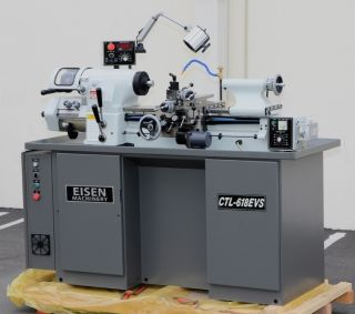 Eisen CTL 618EVS Super High Precision Toolroom Lathe Hardinge HLV Style