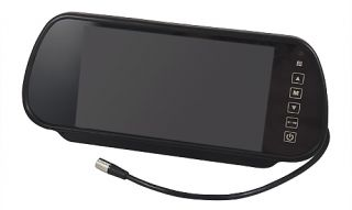 """Car Rearview Mirror Monitor Rear View Backup Camera System 7"""" TFT LCD Key Touch"""