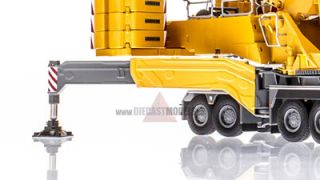 Liebherr LTM11200 9 1 Mobile Crane Yellow in 1 50 Scale by NZG