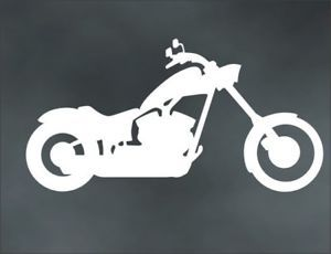 Motorcycle Decal Chopper for Custom Iron Horse Big Dog Bobber Bike Trailer