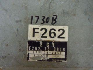 89 Mazda 626 Probe Engine Computer ECM ECU PCM F26218881B