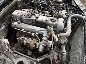 Mercedes Benz OM617 Turbo Diesel W126 W123 300SD 300D 300CD Complete Engine