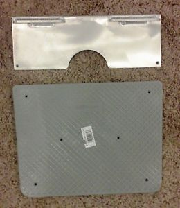 Transom Protection Plate Set for Kicker Type Outboard