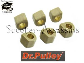 Dr Pulley Rollers 15x12 for Yamaha Jog Neo's Spy Slider Why Zest Zuma 5 Grammes