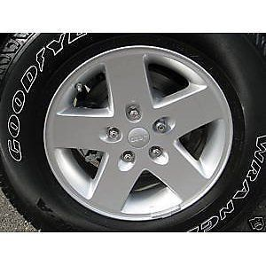 Jeep 17 inch Wheels Tires Rims Goodyear Factory