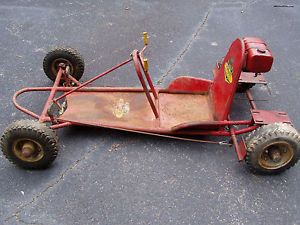 1960s Era Yazoo Dragster Special Dual Engine Mount Estate Find Rolling Chassis