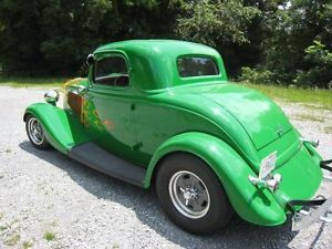1933 Ford 3 Window Coupe Hot Rod Street Rod 1934 1932
