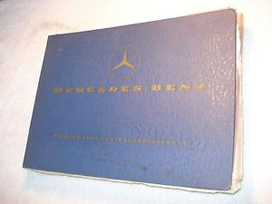 1960 1961 Mercedes Benz Spare Parts List OM 636 Diesel Engine 170D DS 180D