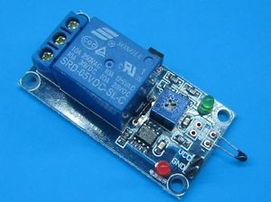 5V Thermistor Sensor Relay Module Temperature Humidity Control Switch