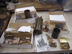 Model Steam Stirling Engine Basmor Copper Range Boiler P M Research Inc