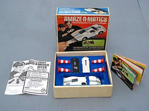 Vintage Hasbro Amaze A Matics Mark IV Ford Programmable Toy Car Battery Operated