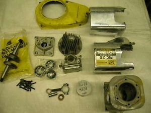 Vintage Go Kart McCulloch MC20 Engine