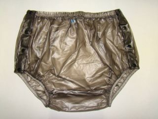 New Adult Baby Plastic Pants PVC Incontinence P004 2T