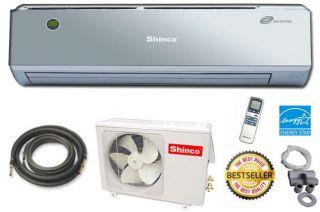 9000 BTU Ductless Mini Split Air Conditioner SEER 18