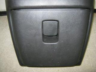 03 12 Chevy Express GMC Savanna Van Black Center Console Cup Holder Opening Door