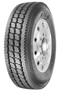 11R22 5 LRG 14 Ply Sailun Closed Shoulder Drive S768 Premium HD Truck Tire