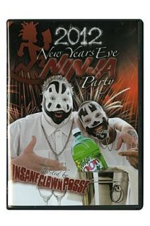 Insane Clown Posse   2012 New Year's Eve Ninja Party DVD