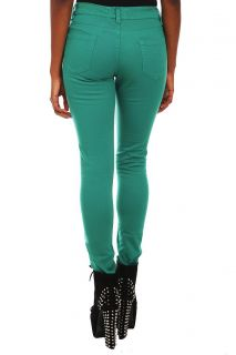 Hell Bunny Green Levine Skinny Jeans