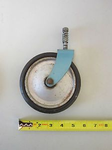 Antique Taylor Tot Baby Stroller Walker Parts Front Wheel Vintage Toddler Buggy