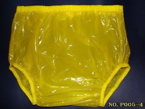 New Adult Baby Plastic Pants PVC Incontinence P005 3T