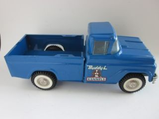 Vintage Buddy L Kennels Truck Pick Up Pressed Steel Toy Car