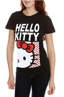 Hello Kitty Squares Girls T Shirt