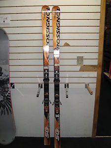 Rossignol Radical Super G Skis Axium Race Binding 176cm