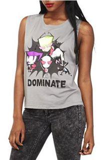 Invader Zim Group Sleeveless Girls T Shirt