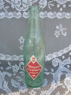 Old Vintage RC Royal Crown Cola Beverages Soda Pop Bottle 12 FL Oz