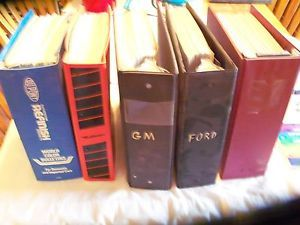 Dupont Paint Color Chip Books Lot of 5 Binders