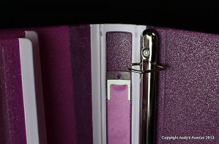 in place everbind view binder with one touch easyopen locking d ring