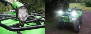 Pair 18W 12V Yamaha Rhino LED Spot Light Working Lamp John Deere Polaris Airboat