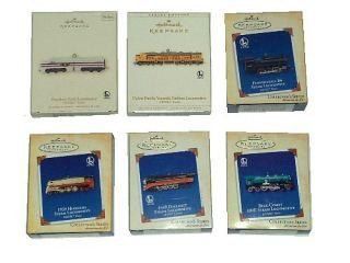 Lot 12 Hallmark Lionel Train Locomotives Engines Ornaments 1996 2007