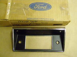 1968 1972 Ford Truck Pickup Radio Bezel Trim 1969 1970 1971 F100 F250 F350