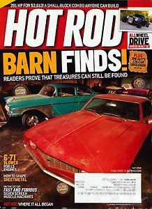 Hot Rod May 2009 671 Blower LS Engine Barn Find Story Muscle Car Hotrod Magazine