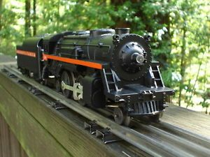 Lionel Trains RARE Pennsylvania Railroad Steam Engine Set Red Stripe 1958 Only