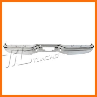 97 03 Ford F150 Styleside Rear Face Impact Bar Chrome Fits XL3Z17906BB Super Cab