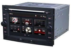 Autoradio DVD GPS Navi Bluetooth iPod Radio SAT Nav DVR Player Peugeot 307