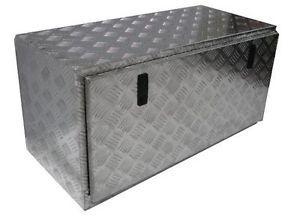 """36""""L x 16""""w x 18""""H Aluminum Truck Underbody Tool Box Trailer Bed Rail"""