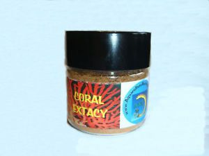 """""""Coral Extacy"""" 2oz Coral Food Live Rock Reef Fish Tank Feed Anemone Marine"""