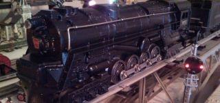 Lionel 671 S2 Turbine Engine Restored Lionel 671 Steam Engine
