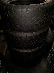 4 33x12 50x20 Toyo Open Country M T Tires 33x12 50R20 33 12 50 20 Mud MT Terrain