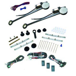 Compact Truck Power Window Kit Minitruck FBSS 12V Dual Wiring Accessories